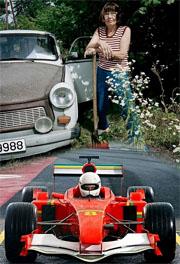Esti Trabant sau Formula 1